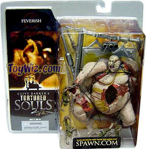 McFarlane Toys Clive Barker's Tortured Souls Tortured Souls 2 The Fallen Feverish Action Figure