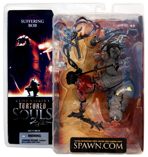 McFarlane Toys Clive Barker's Tortured Souls Tortured Souls 2 The Fallen Suffering Bob Action Figure