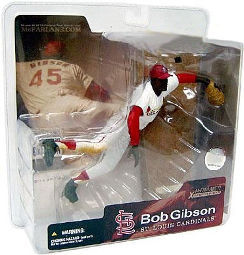McFarlane Toys MLB Cooperstown Collection Series 1 Bob Gibson Action Figure [White Jersey]