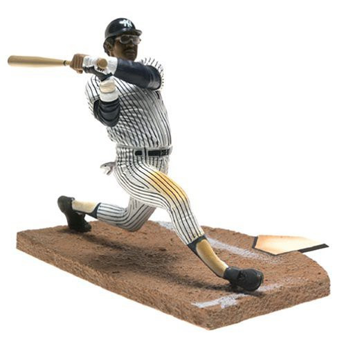 McFarlane Toys MLB Cooperstown Collection Series 1 Reggie Jackson Action Figure [White Uniform]