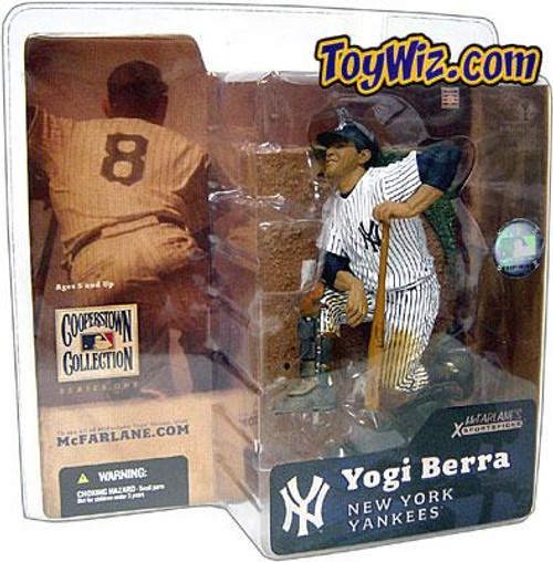 McFarlane Toys MLB Cooperstown Collection Series 1 Yogi Berra Action Figure [Shiny Hat]