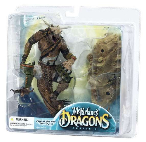 McFarlane Toys McFarlane's Dragons Quest for the Lost King Series 3 Komodo Clan Dragon 3 Action Figure