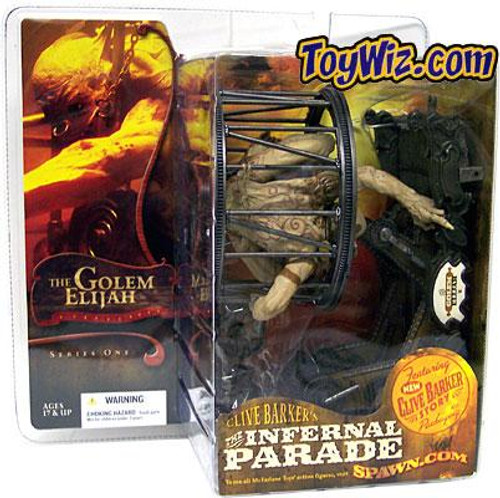McFarlane Toys Clive Barker's The Infernal Parade Series 1 The Golem Elijah Action Figure