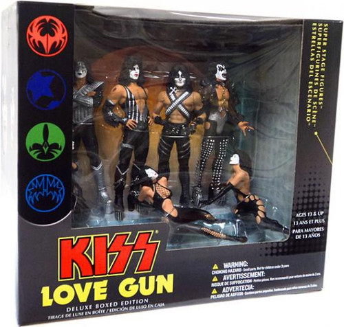 McFarlane Toys KISS Love Gun Action Figure Set