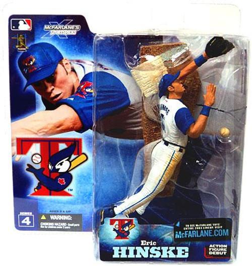 McFarlane Toys MLB Toronto Blue Jays Sports Picks Series 4 Eric Hinske Action Figure [White Jersey Variant]