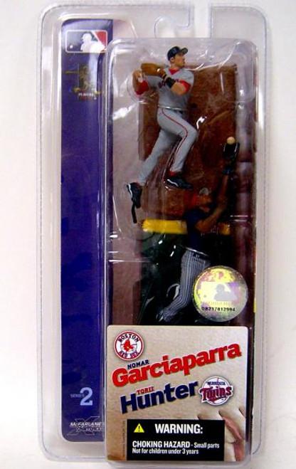 McFarlane Toys MLB Boston Red Sox / Minnesota Twins Sports Picks 3 Inch Mini Series 2 Nomar Garciaparra & Torii Hunter Mini Figure 2-Pack