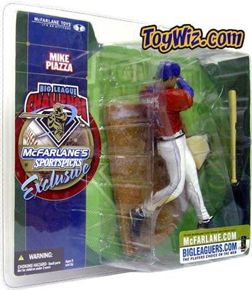 McFarlane Toys MLB New York Mets Sports Picks Big League Challenge Mike Piazza Exclusive Action Figure