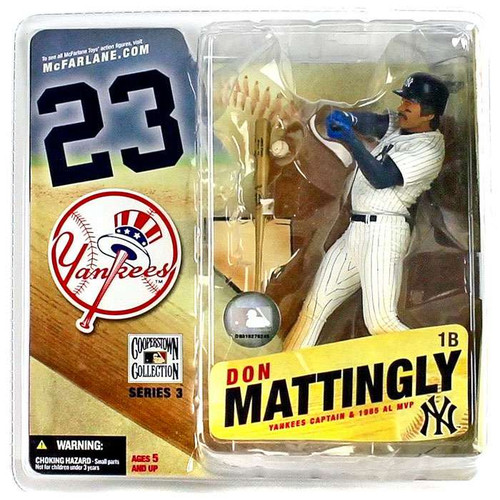 McFarlane Toys MLB Cooperstown Collection Series 3 Don Mattingly Action Figure