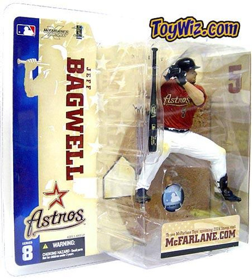 McFarlane Toys MLB Houston Astros Sports Picks Series 8 Jeff Bagwell Action Figure [Red Jersey]