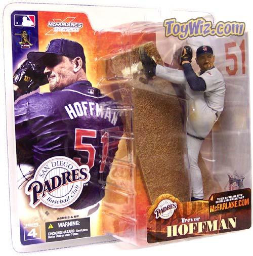 McFarlane Toys MLB San Diego Padres Sports Picks Series 4 Trevor Hoffman Action Figure [Gray Jersey Variant]