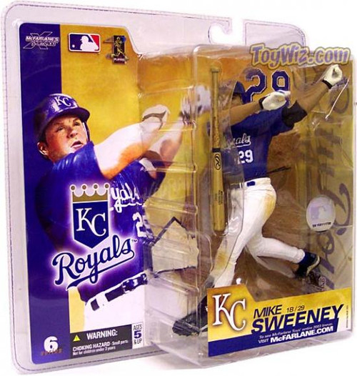 McFarlane Toys MLB Kansas City Royals Sports Picks Series 6 Mike Sweeney Action Figure [Blue Jersey]