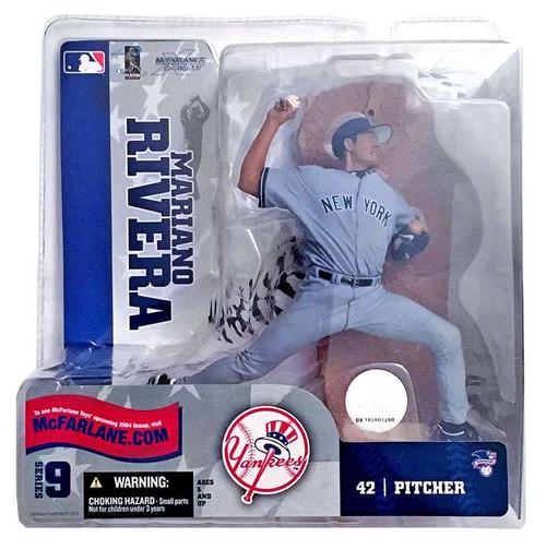 McFarlane Toys MLB New York Yankees Sports Picks Series 9 Mariano Rivera Action Figure [Gray Jersey]