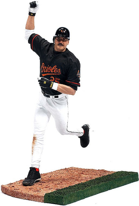 McFarlane Toys MLB Baltimore Orioles Sports Picks Series 10 Rafael Palmeiro Action Figure [Black Jersey]