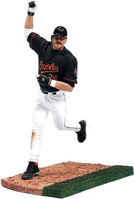 McFarlane Toys MLB Baltimore Orioles Sports Picks Series 10 Rafael Palmeiro Action Figure [Black Jersey]