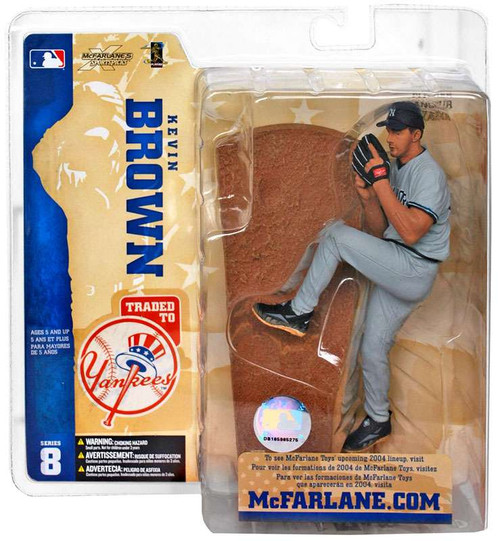 McFarlane Toys MLB New York Yankees Sports Picks Series 8 Kevin Brown Action Figure [Yankees Variant]