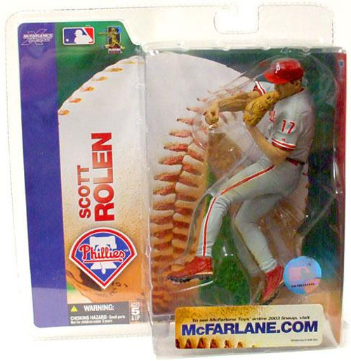 McFarlane Toys MLB Philadelphia Phillies Sports Picks Series 7 Scott Rolen Action Figure [Phillies Jersey Variant]