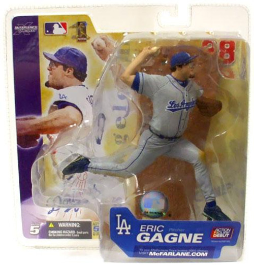 McFarlane Toys MLB Los Angeles Dodgers Sports Picks Series 5 Eric Gagne Action Figure [Gray Jersey Variant]