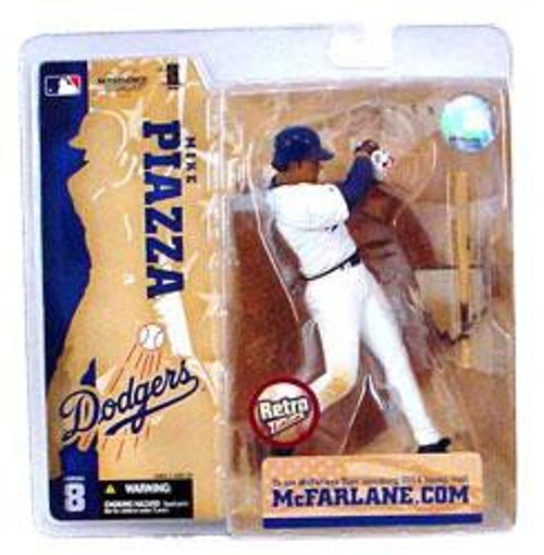 McFarlane Toys MLB Los Angeles Dodgers Sports Picks Series 8 Mike Piazza Action Figure [Retro Dodgers Variant]