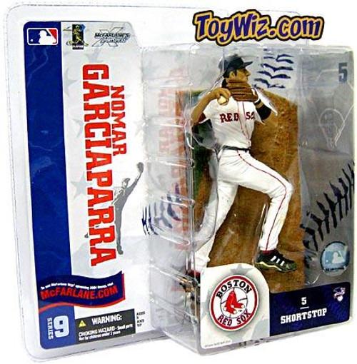 McFarlane Toys MLB Boston Red Sox Sports Picks Series 9 Nomar Garciaparra Action Figure [White Jersey Variant]