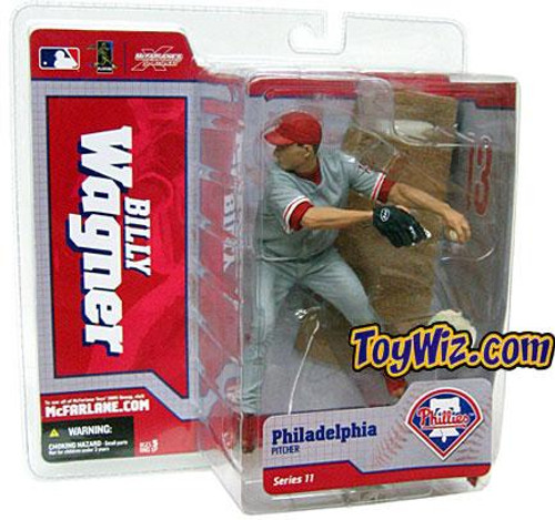 McFarlane Toys MLB Philadelphia Phillies Sports Picks Series 11 Billy Wagner Action Figure [Gray Jersey]
