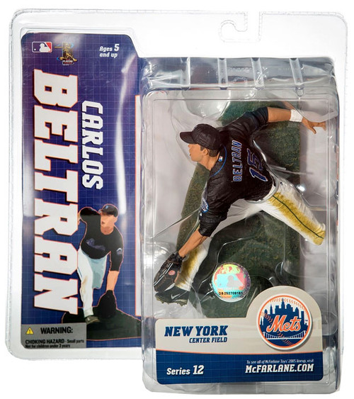 McFarlane Toys MLB New York Mets Sports Picks Series 12 Carlos Beltran Action Figure [Black Jersey]