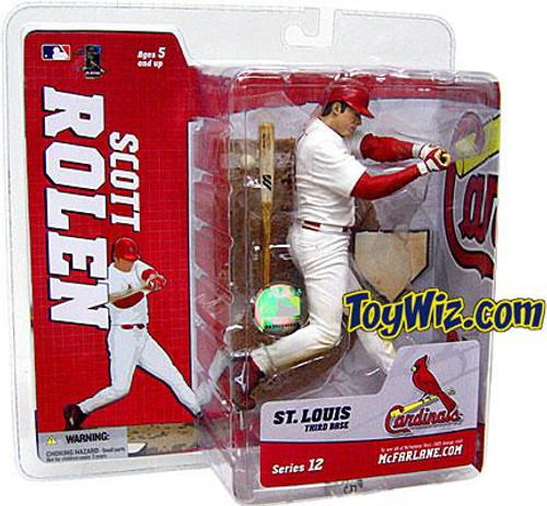 McFarlane Toys MLB St. Louis Cardinals Sports Picks Series 12 Scott Rolen Action Figure [White Jersey]