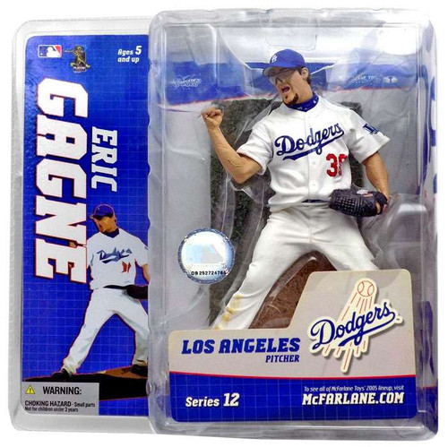 McFarlane Toys MLB Los Angeles Dodgers Sports Picks Series 12 Eric Gagne Action Figure [White Jersey]