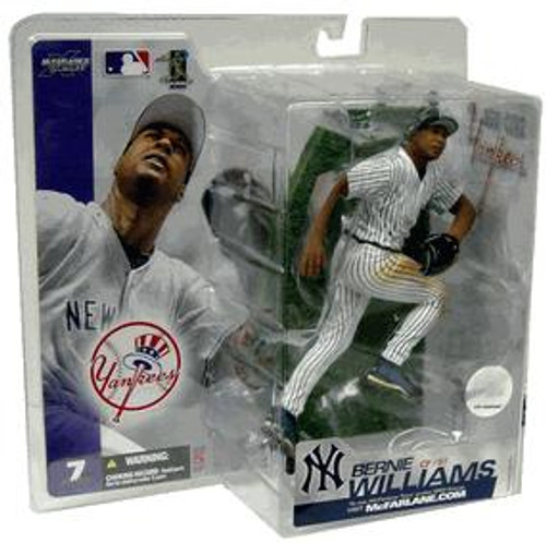McFarlane Toys MLB New York Yankees Sports Picks Series 7 Bernie Williams Action Figure [Pinstripes Jersey Variant]