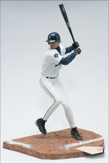 McFarlane Toys MLB Seattle Mariners Sports Picks Series 1 Ichiro Suzuki Action Figure [Clean White Jersey]