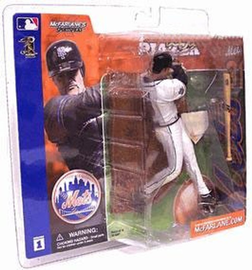 McFarlane Toys MLB New York Mets Sports Picks Series 1 Mike Piazza Action Figure [White Jersey Variant]