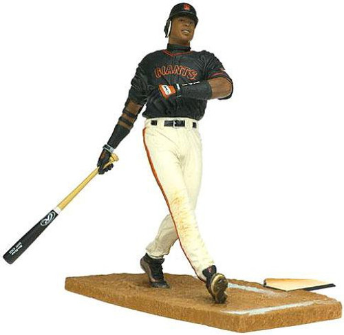 McFarlane Toys MLB San Francisco Giants Sports Picks Series 2 Barry Bonds Action Figure [Black Jersey]