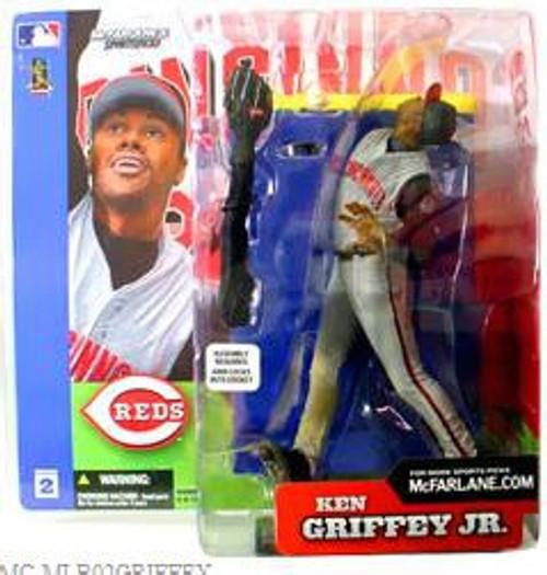 McFarlane Toys MLB Sports Picks Series 2 Ken Griffey Jr. (Cincinnati Reds) Action Figure [Gray Jersey]