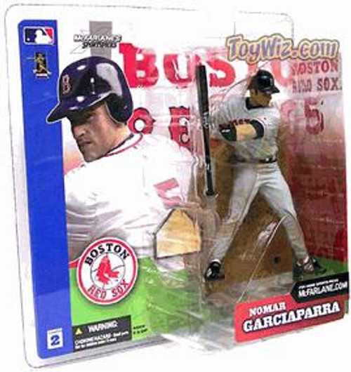 McFarlane Toys MLB Boston Red Sox Sports Picks Series 2 Nomar Garciaparra Action Figure [Gray Jersey Variant]
