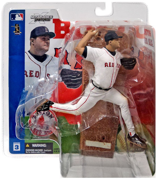 McFarlane Toys MLB Boston Red Sox Sports Picks Series 3 Roger Clemens Action Figure [White Jersey]