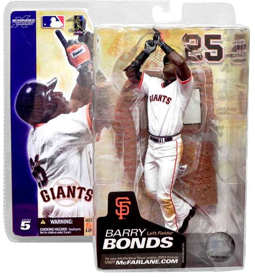 McFarlane Toys MLB San Francisco Giants Sports Picks Series 5 Barry Bonds Action Figure [White Jersey]