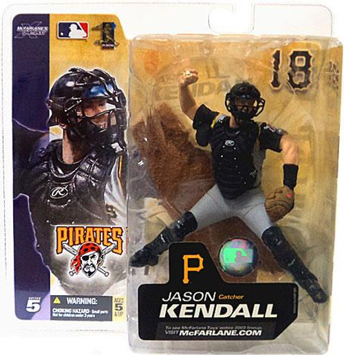 McFarlane Toys MLB Pittsburgh Pirates Sports Picks Series 5 Jason Kendall Action Figure [Gray Jersey Variant]