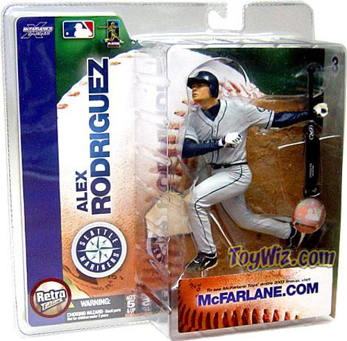 McFarlane Toys MLB Seattle Mariners Sports Picks Series 6 Alex Rodriguez Action Figure [Mariners Jersey Variant]