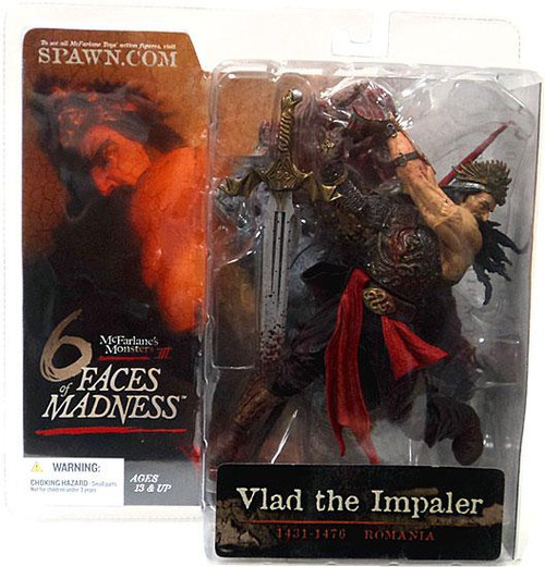 McFarlane Toys McFarlane's Monsters 6 Faces of Madness Vlad the Impaler Action Figure