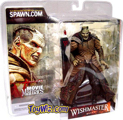McFarlane Toys Movie Maniacs Series 5 Wishmaster Djinn Action Figure [Version 2]
