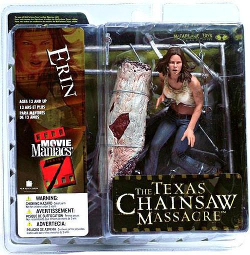 McFarlane Toys The Texas Chainsaw Massacre Movie Maniacs Series 7 Erin Action Figure