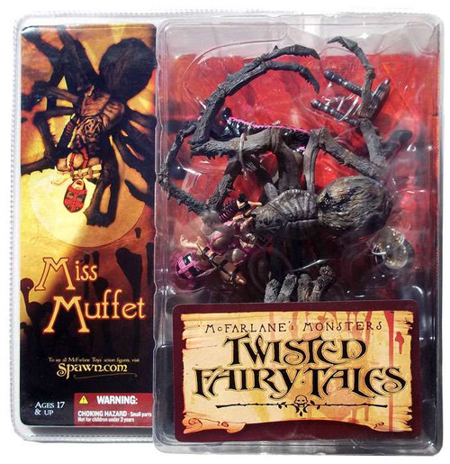 McFarlane Toys McFarlane's Monsters Twisted Fairy Tales Miss Muffet Action Figure