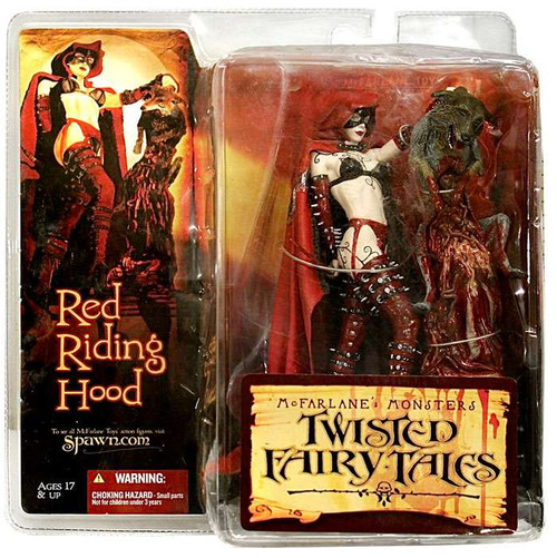 McFarlane Toys McFarlane's Monsters Twisted Fairy Tales Red Riding Hood Action Figure