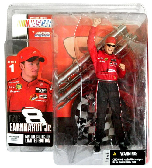 McFarlane Toys NASCAR Series 1 Dale Earnhardt Jr. Action Figure