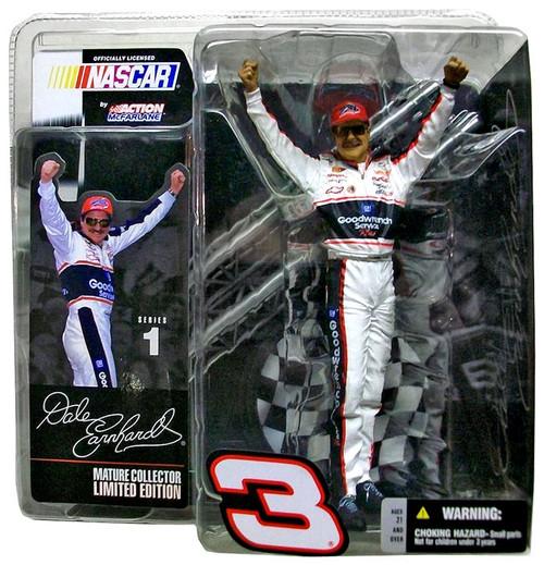 McFarlane Toys NASCAR Series 1 Dale Earnhardt Action Figure