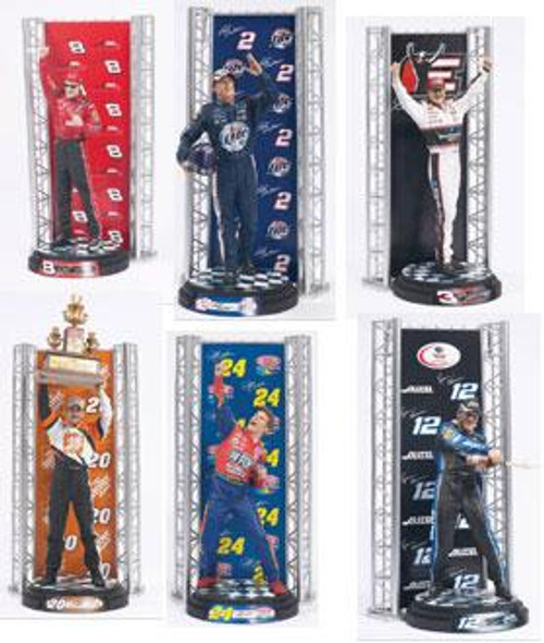McFarlane Toys NASCAR Series 1 Set of 6 Action Figures