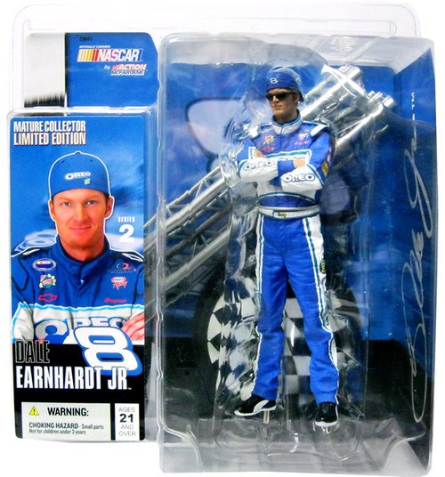 McFarlane Toys NASCAR Series 2 Dale Earnhardt Jr. Action Figure