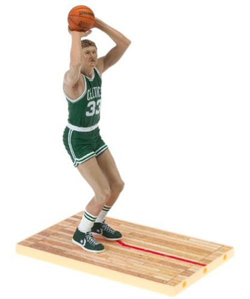 McFarlane Toys NBA Boston Celtics Sports Picks Legends Series 1 Larry Bird Action Figure [Green Jersey]