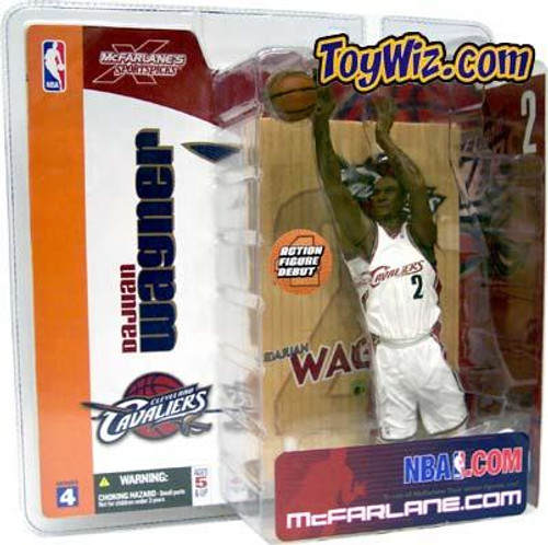 McFarlane Toys NBA Cleveland Cavaliers Sports Picks Series 4 Dujuan Wagner Action Figure [White Jersey Variant]