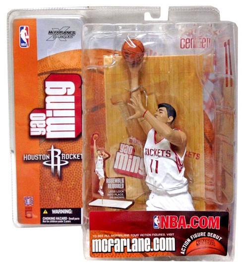McFarlane Toys NBA Houston Rockets Sports Picks Series 5 Yao Ming Action Figure [White Jersey]