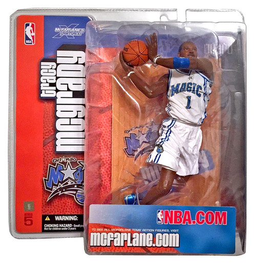 McFarlane Toys NBA Orlando Magic Sports Picks Series 5 Tracy McGrady Action Figure [White Jersey Variant]